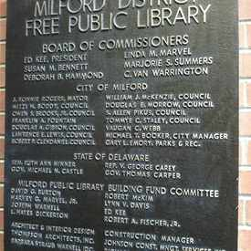 Photo of Milford Public Library