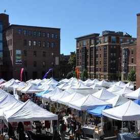 Photo of SoWa Open Market in South End