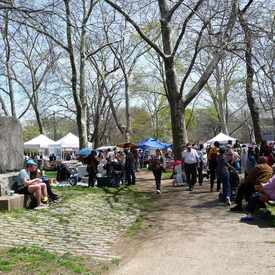 Photo of Clark Park Farmers Market in University City