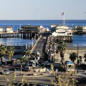 Photo of Stearns Wharf in Lower State