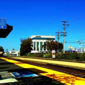 Photo of Broadway Caltrain Station