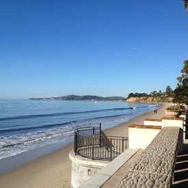 Photo of Butterfly Beach, Montecito, CA, in University Park Estates