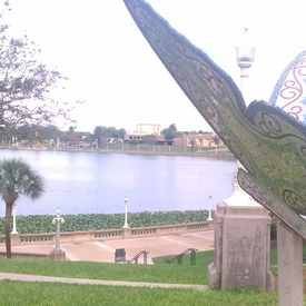 Photo of Butterfly overlooking Lake Mirror in Downtown