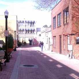Photo of Downtown Alleyway in Downtown