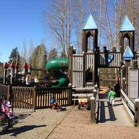 Photo of North Rose Hill Woodlands Park Playground in North Rose Hill