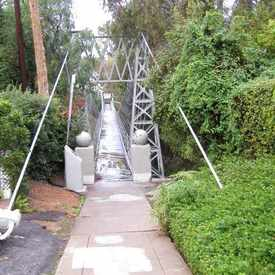 Photo of Spruce Street Suspension Bridge in Park West