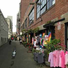 Photo of Post Alley in Downtown