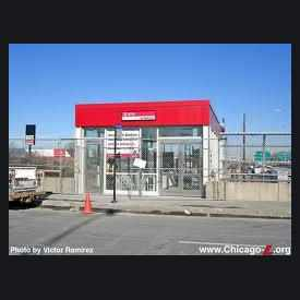 Photo of 87th Street Red Line Station in West Chatham