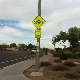 Photo of Bike Sign