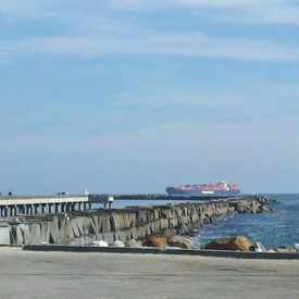 Photo of Cabrillo Beach Pier in San Pedro
