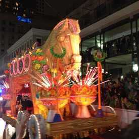Photo of Mardi Gras in Central Business District