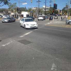 Photo of Crazy intersections in Brentwood