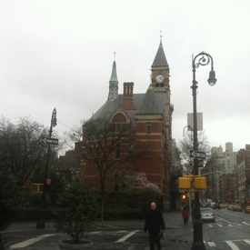 Photo of Jefferson Market Greening in Greenwich Village