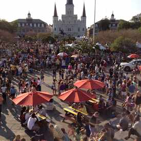 Photo of Jackson Square in French Quarter