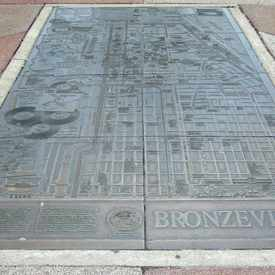 Photo of Bronzeville Map in Bronzeville
