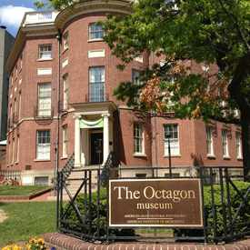 Photo of The Octagon Museum in Foggy Bottom