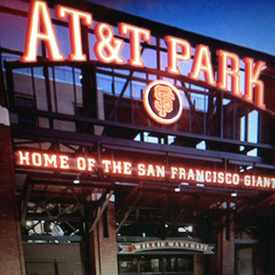 Photo of AT&T Park in South Beach