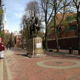Photo of Paul Revere  in North End