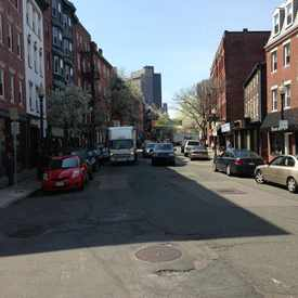Photo of Hanover Street in North End