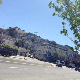 Photo of Valencia St & Duncan St in Bernal Heights