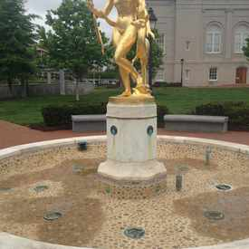 Photo of Joseph Darlington Fountain in Judiciary Square