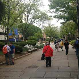 Photo of George Washington University Plaza in Foggy Bottom