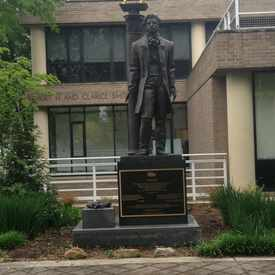 Photo of Alexander Pushkin Monument in Foggy Bottom
