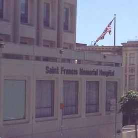Photo of St Francis Memorial Hospital in Downtown