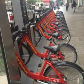 Photo of Capital Bikeshare: Metro Center / 12th & G St NW in Downtown