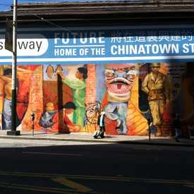 Photo of Chinatown Mural in Chinatown
