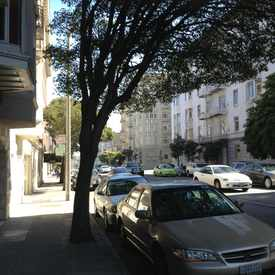 Photo of Clay St & Franklin St in Pacific Heights