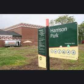 Photo of Harrison Park in Heart of Chicago