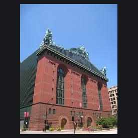 Photo of Harold Washington Library Center in Printers Row