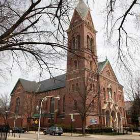 Photo of St Matthias Church in Lincoln Square
