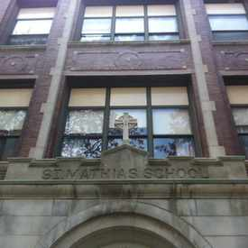 Photo of St. Matthias School in Lincoln Square