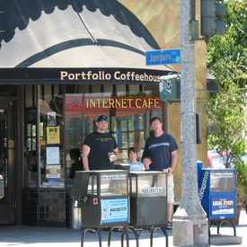 Photo of Portfolio Coffee House LLC in Carroll Park