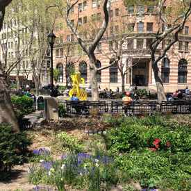 Photo of Beach Street Park in Tribeca