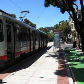 Photo of Duboce Ave & Church St in Hayes Valley