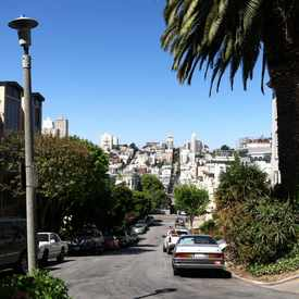 Photo of Greenwich Street in Telegraph Hill