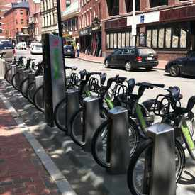 Photo of Hubway: Faneuil Hall - Union St. at North St. in Haymarket