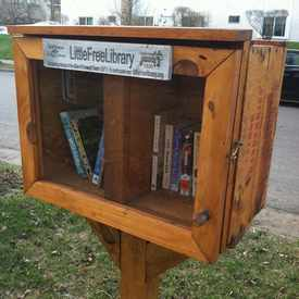Photo of Little Community Library in Lowry Hill East