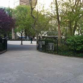 Photo of Madison Square Park in Flatiron District