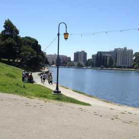Photo of Lake Merritt Lakeshore in Downtown