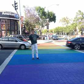 Photo of West Hollywood Cross Walk
