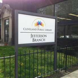 Photo of Cleveland Public Library in Tremont