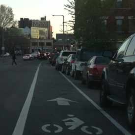 Photo of Bike Lane in North Dorchester