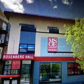 Photo of Rosenberg Hall in Juneau Town