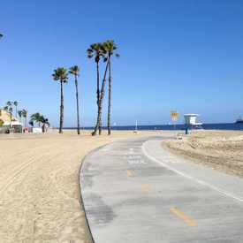 Photo of Long Beach, Beach Bike Path in Bluff Park