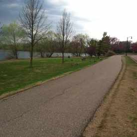 Photo of Trail Around Lake Of The Isles in East Isles