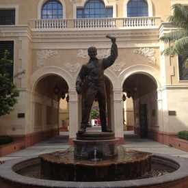 Photo of USC School of Cinematic Arts in South Los Angeles
